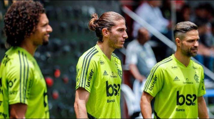 Filipe Luis se rindió ante River: