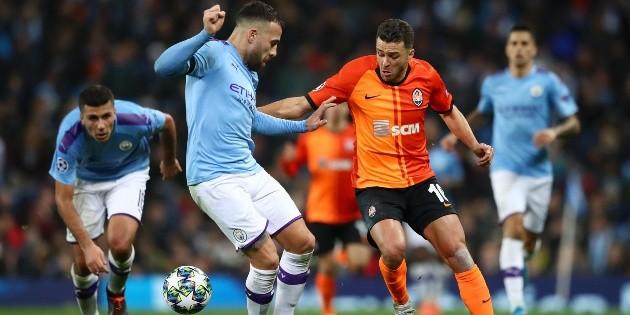 ¿Qué pasó, Pep? Manchester City se durmió y empató con Shakhtar Donetsk | Bolavip