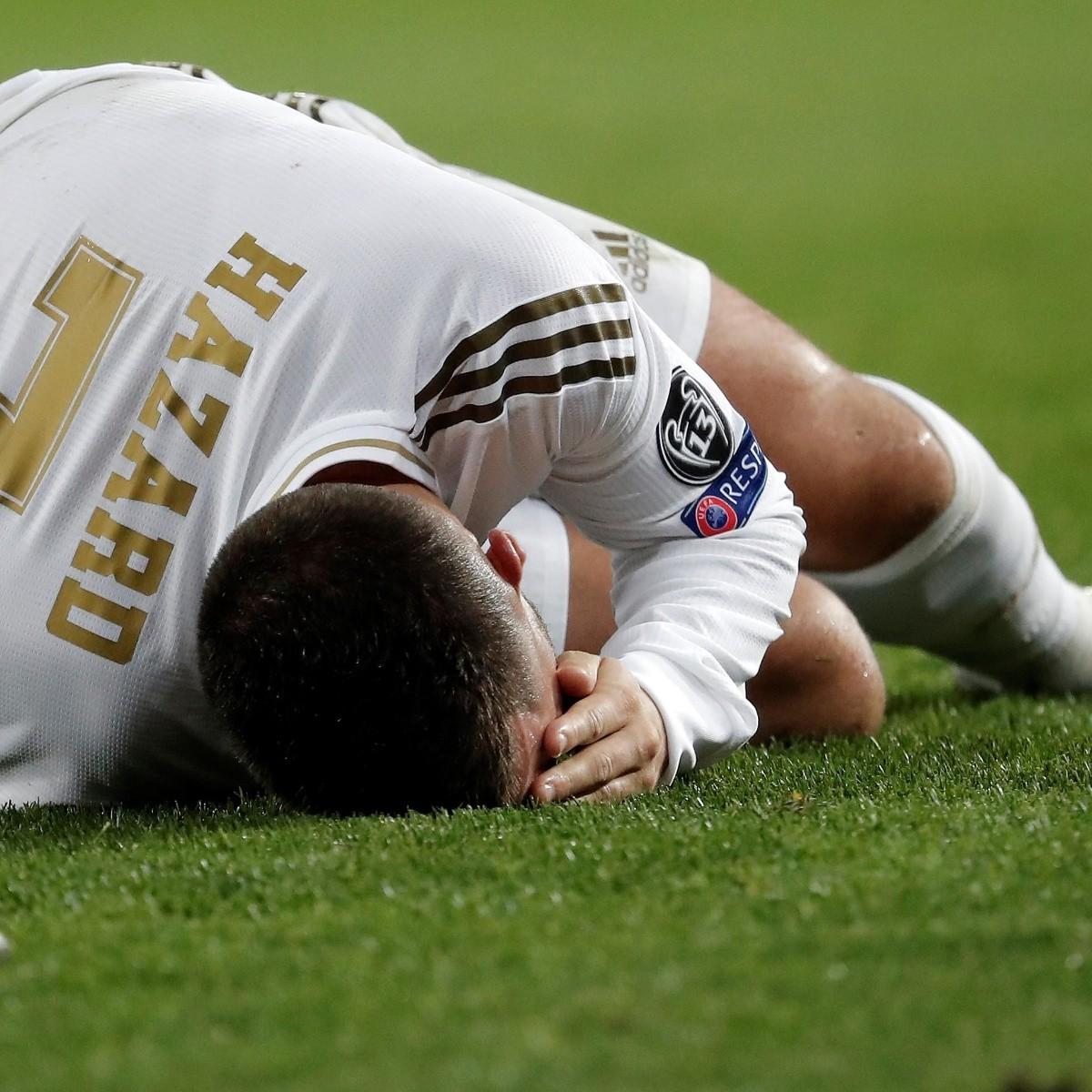 Real Madrid comunicó cuál es la gravedad de la lesión de Eden Hazard |  Bolavip