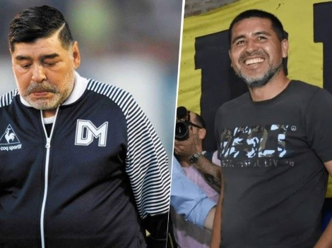 """Maradona destruyó a Riquelme: """"No queremos tener un Passarella en Boca"""""""