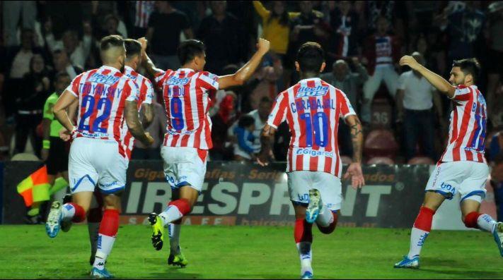 La celebración de los jugadores Tatengues.