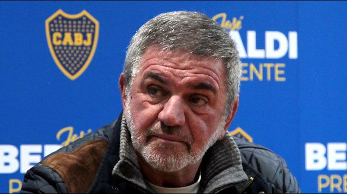 José Beraldi, candidato a presidente de Boca.