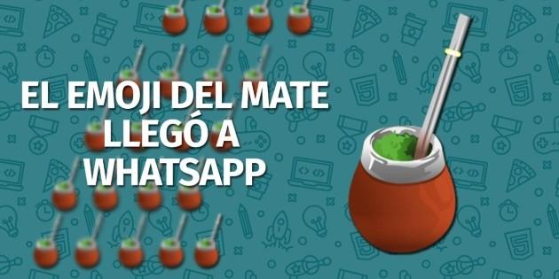 Como conseguir el Emoji del Mate en WhatsApp | Bolavip