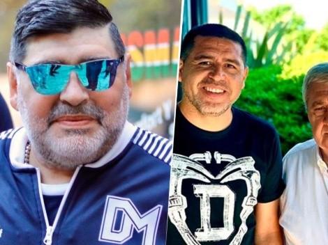 """Maradona destrozó a Riquelme: """"Passarella es Heidi al lado de esos 3"""""""