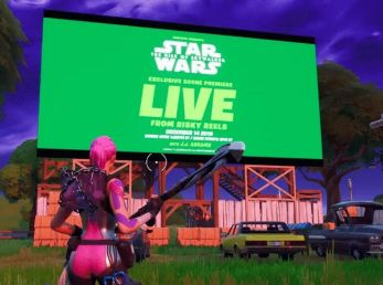 Primer vistazo al evento de Fortnite x Star Wars