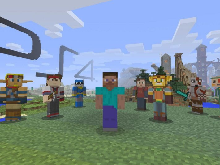 Sony finalmente habilita el Crossplay para Minecraft en PS4