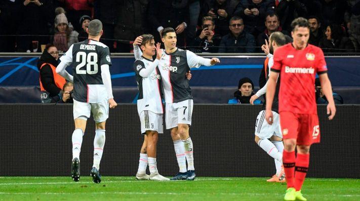 Juventus lo ganó sobre el final y terminó con los sueños del Leverkusen en Champions