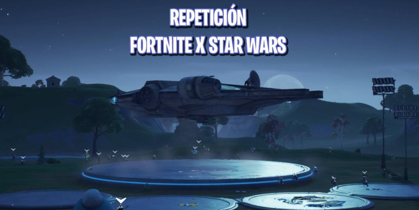 Repetición completa del evento de Fortnite x Star Wars
