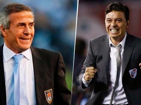 """Tabárez sobre Gallardo en River: """"Va a ser imposible superarlo"""""""