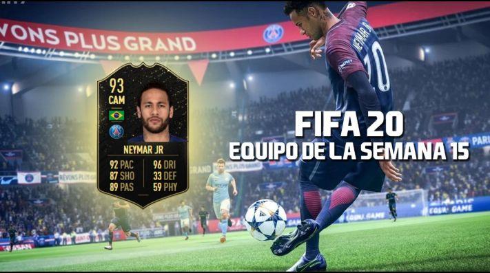 FIFA 20 | Neymar recibe un IF de 93 en el TOTW 15