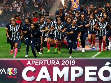 Rayados imitó a Tigres: fue Campeón en varones y mujeres en el mismo torneo