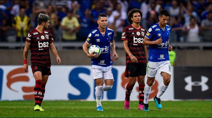 Foto del volante creativo de Cruzeiro.