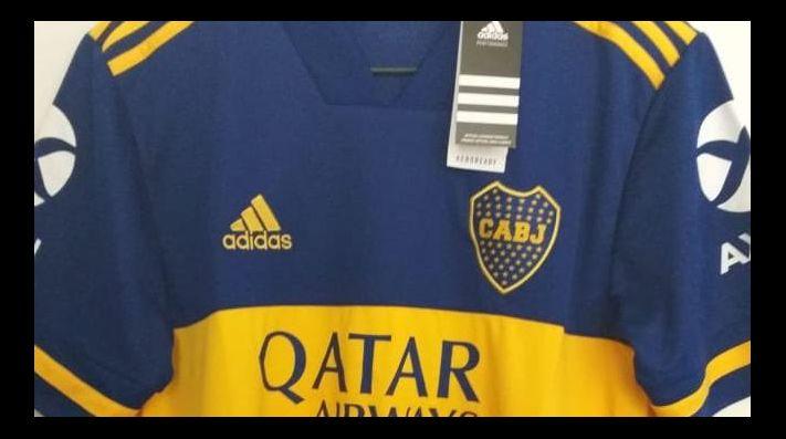 La camiseta que diseñó adidas para Boca.