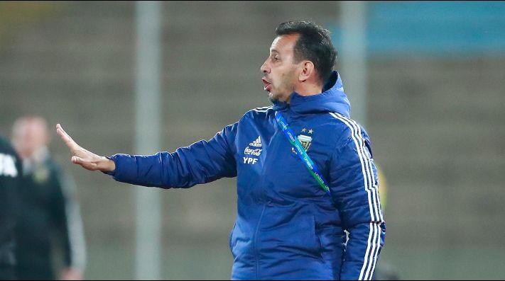 Fernando Batista, entrenador argentino.
