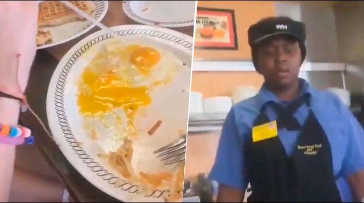 Video viral: clienta se perdió un huevo con pajita y la reacción de la moza es diabólica