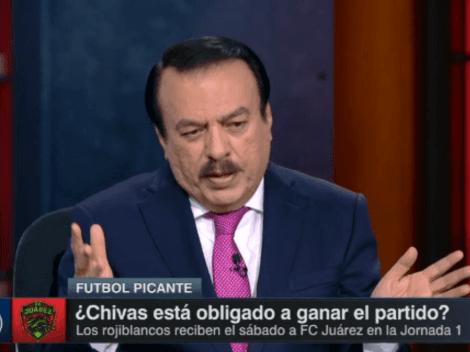 Huerta: cuatro refuerzos de Chivas están muy molestos porque no serán titulares en el debut