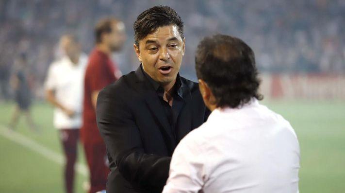 Un DT de la Superliga contra Gallardo: