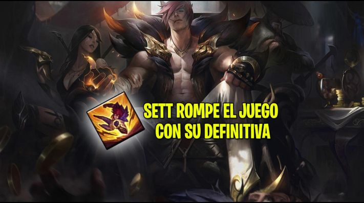 Encuentran un bug de Sett en League of Legends que rompe la partida