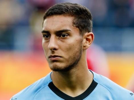 Sebastián Cáceres se despidió de Liverpool