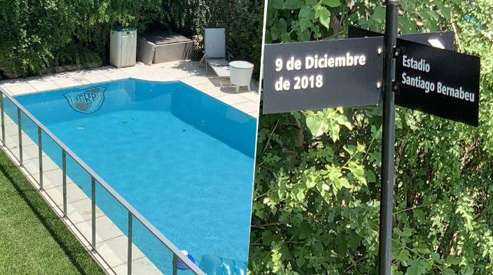 El hincha de River que ahora vive en ¡9 de diciembre y Santiago Bernabéu!