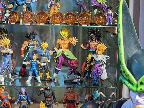 Un crack del Barcelona reveló su impresionante colección de ¡Dragon Ball Z!