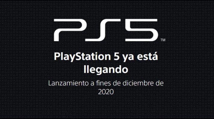 Sony abre la página oficial de PlayStation 5 ¡la revelación es inminente!