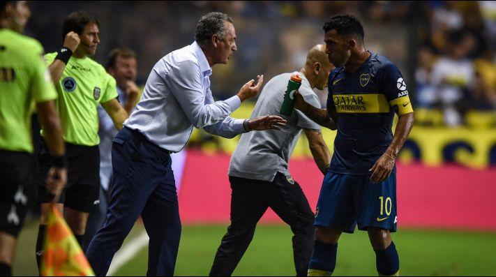 Tevez contó cuando se rompió la confianza con Alfaro en Boca