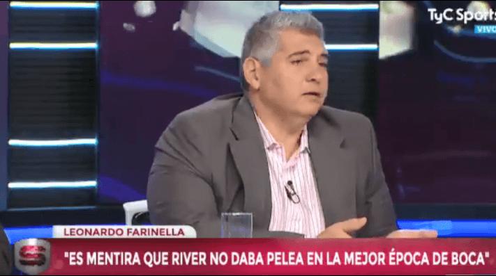 Farinella le respondió a Tevez: