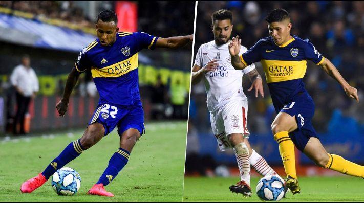 Sebastián Villa y Jorman Campuzano.