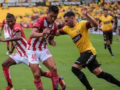Barcelona Sporting Club no pasó del empate frente a Técnico Universitario