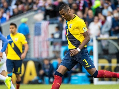 El sorpresivo nuevo equipo de Frickson Erazo en el fútbol ecuatoriano