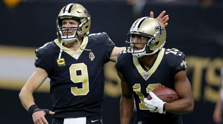 Michael Thomas le dedicó un emotivo mensaje a Drew Brees.