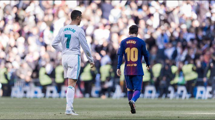 Foto de Lionel Messi y Crisitano Ronaldo.
