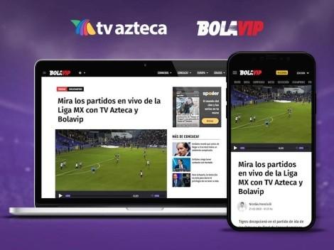 Disfruta de la transmisión en vivo de los partidos de TV Azteca en nuestro portal