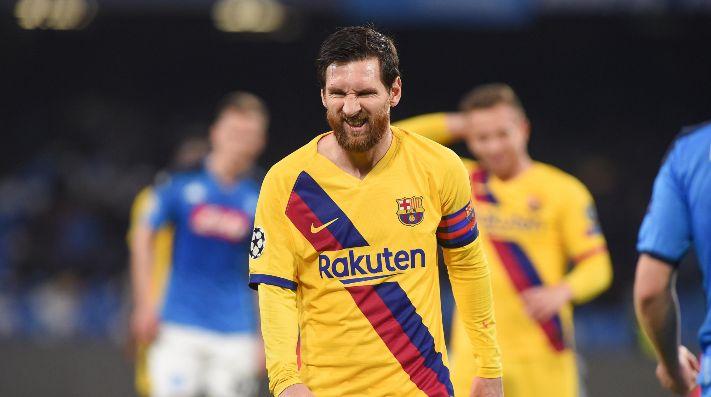 Foto de Lionel Messi, jugador de Barcelona.