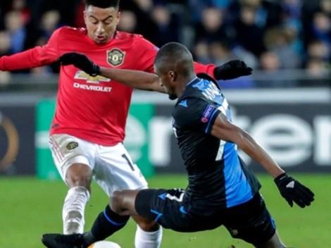 Qué canal transmite Manchester United vs. Brujas por la UEFA Europa League