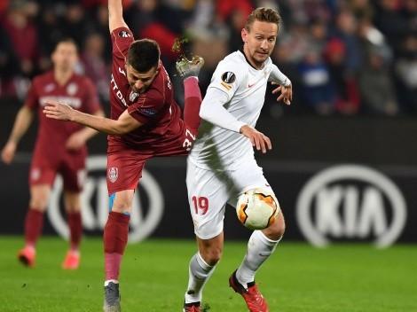 Qué canal transmite Sevilla vs. CLUJ Napoca por la UEFA Europa League