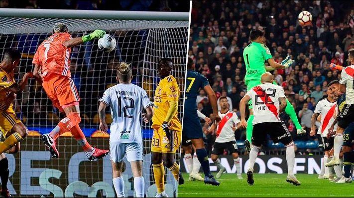 Guzmán metió un gol de cabeza y los de River hicieron tendencia a Andrada