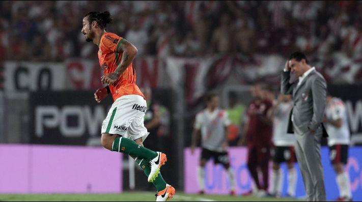 Segunda lesión en un mes: Daniel Osvaldo es otra vez baja con Banfield