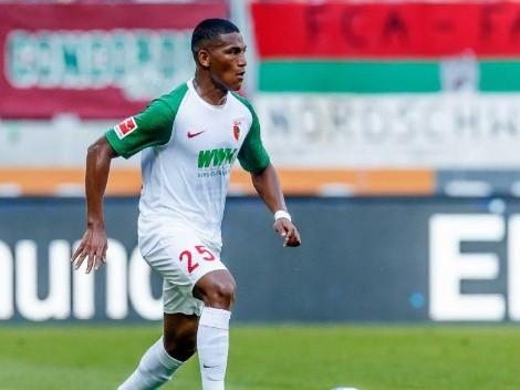 Augsburg compartió su felicidad por el esperado regreso de Carlos Gruezo