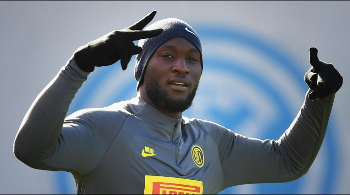 Romelu Lukaku, temible delantero de Inter.