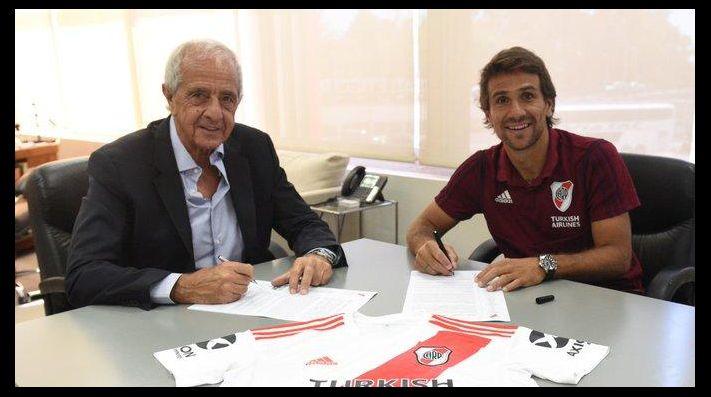 Continúa la leyenda: Ponzio renovó su contrato con River hasta 2021
