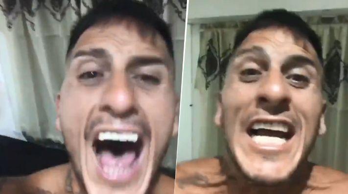 Migliore como loco con Boca campeón: