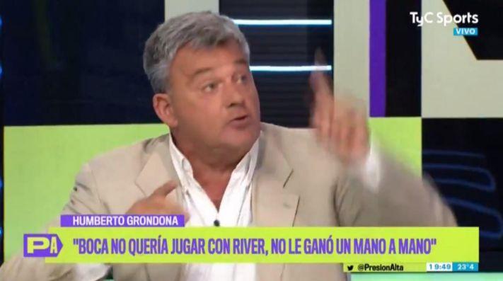Humberto Grondona en TyC Sports.