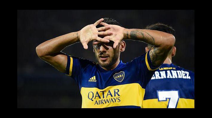 Foto de Eduardo Salvio, jugador de Boca.