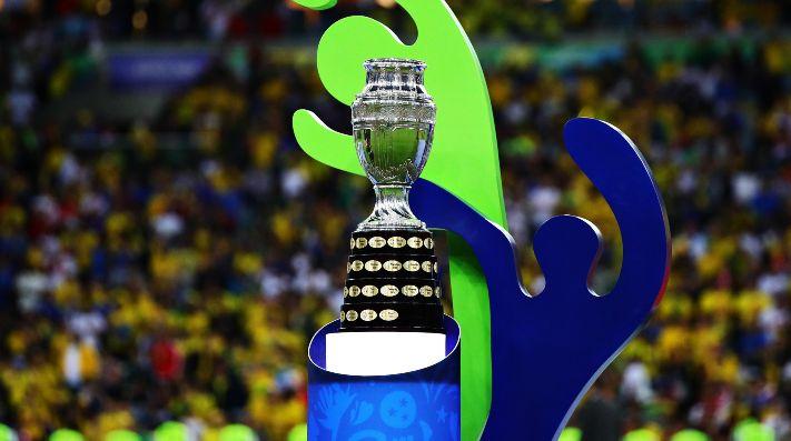 Foto de la Copa América en Brasil.