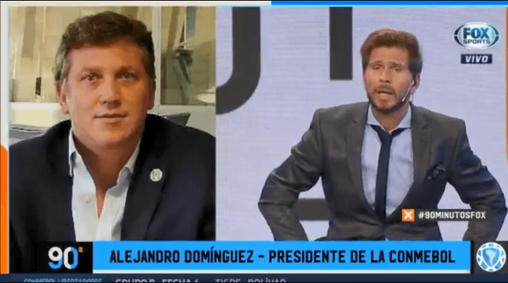Alejandro Domínguez le puso fecha al regreso de la Copa Libertadores