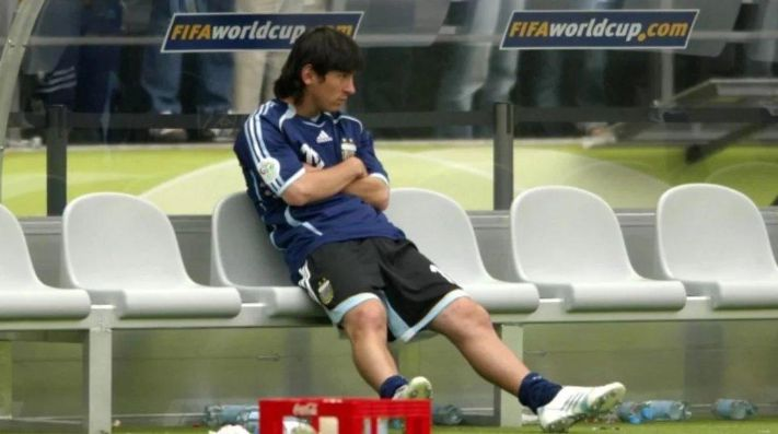 Revelan 14 años después por qué Messi no entró contra Alemania