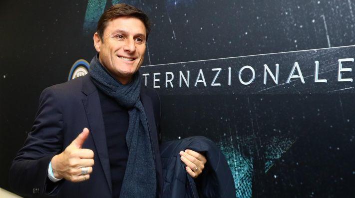 Javier Zanetti, vicepresidente de Inter de Milán.