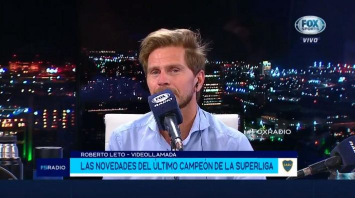 Roberto Leto en 'Fox Sports Radio'.